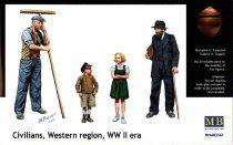 Masterbox Civilians, Western region