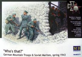 Masterbox German Mountain Troops and Soviet Marines, spring 1943.
