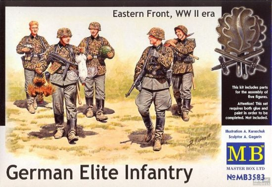 Masterbox German Elite Infantry