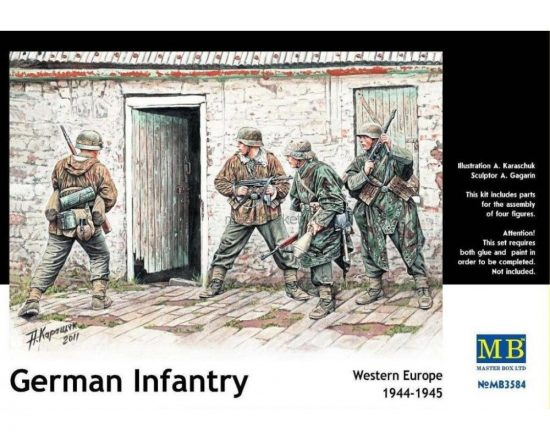 Masterbox German Infantry, Western Europe 1944-1945