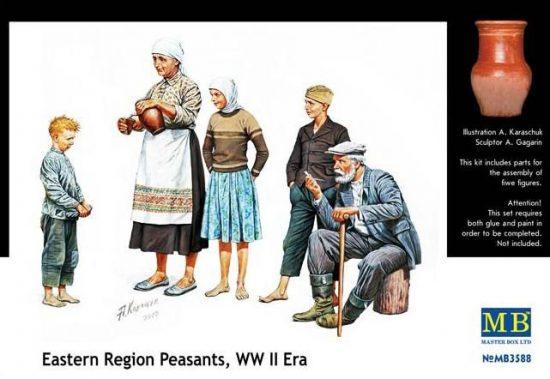 Masterbox Peasants Eastern Europe