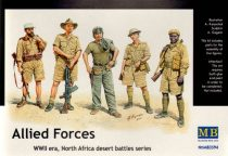 Masterbox Allied Force North Africa Desert Battle Series