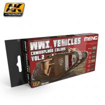 AK WWI VEHICLES CAMOUFLAGE COLORS VOL.2.