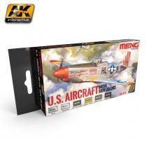 AK U.S. AIRCRAFT METAL SKIN COLORS