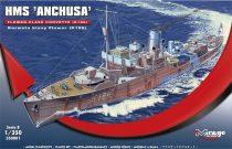 """Mirage HMS """"Anchusa"""" Flower-Class Corvette K186 makett"""