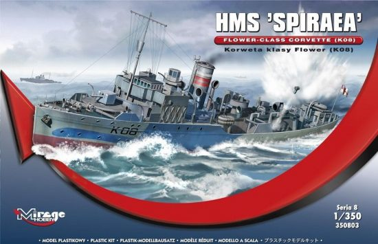 Mirage HMS SPIRAEA Flower-Class Corvette (K08)