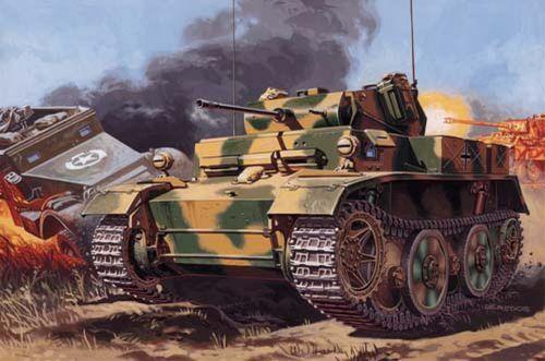 Mirage PzKpfw II Ausf. L ''Luchs'' makett