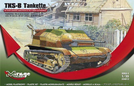 Mirage Polish TKS-B Tankette makett