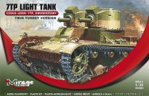 Mirage 7TP Polish Light Tank (Twin Turret)