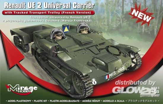Mirage Renault UE 2 Universal Carrier with Trac