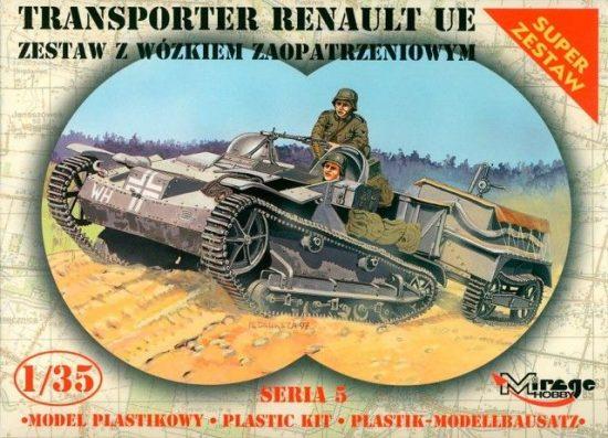 Mirage Renault UE Transporter with Trailer