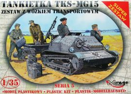 Mirage TKS/MG 15 + Universal Transport Vehicle