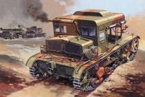 Mirage C7P Artillery/Recovery Tractor makett