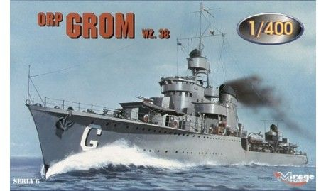 Mirage Destroyer ORP Grom 1938
