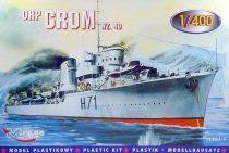 Mirage Destroyer ORP Grom 1940 makett