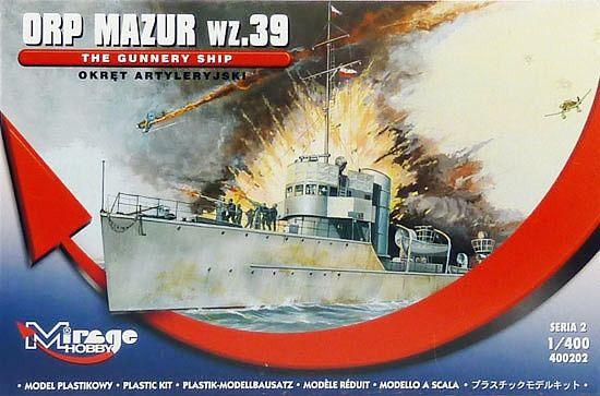 Mirage Torpedoboot Mazur 1939 makett