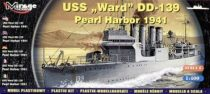 Mirage USS Ward DD-139 'Pearl Harbor 1941' makett