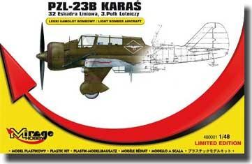 Mirage PZL-23B Karas Recon. Bomber 32thLF/3.AR makett