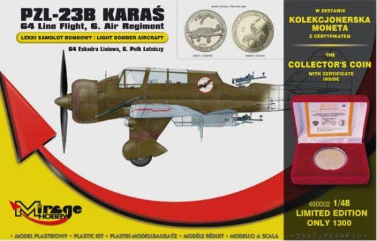 Mirage PZL-23B Karas Light Bomber 64th Line makett