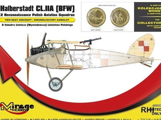 Mirage Halberstadt CL.IIA(BFW) makett