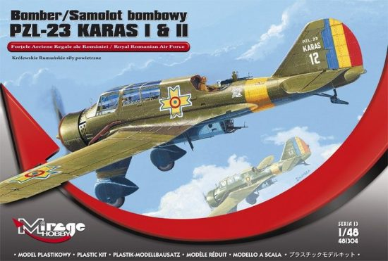 Mirage Bomber PZL-23 KARAS I & II makett