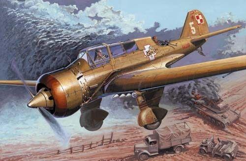 Mirage PZL-23B 1939 Campaign makett