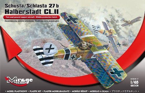 Mirage Schusta/ Schlasta 27b Halberstadt CL.II makett