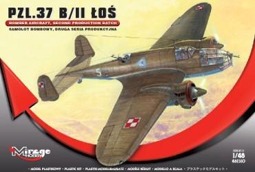 Mirage PZL.37 B/II LOS Bomber Aircraft makett