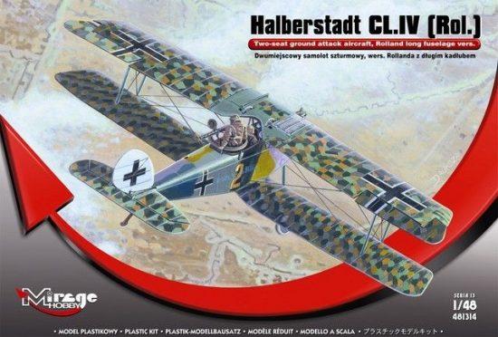 Mirage Halberstadt CL.IV(Rol)Twi-seat ground su makett