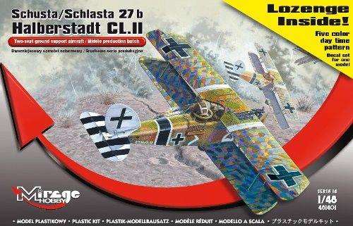 Mirage Schusta/Schlasta 27b Halberstadt + color makett