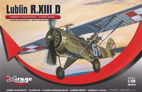 Mirage Lublin R.XIII D (Liaison plan) makett