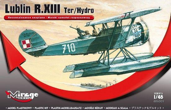 Mirage Lublin R.XIII Ter/Hydro Rec. seaplane makett