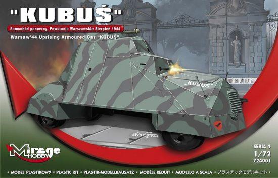 Mirage KUBUS (Warsaw'44 Uprising Armoured Car) makett