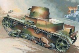 Mirage Vickers E Mk.B light tank