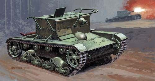 Mirage T-26TN Armoured observation post