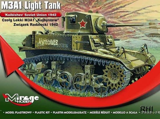Mirage M3A1 Light Tank 'Kuibishev' Sov. Union makett