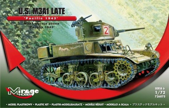 "Mirage U.S. M3A1 Late ""Pacific 1943"""