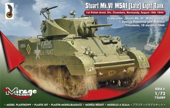 Mirage Stuart MK.VI M5A1 (Late) makett