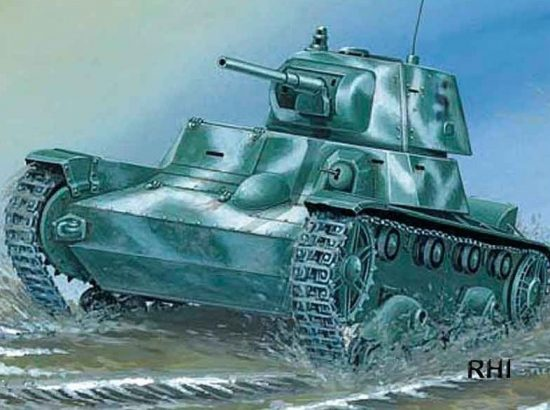 Mirage Light Tank T-26 C 1939 makett