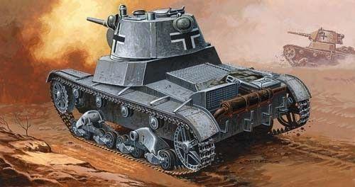 Mirage C740 German Tank makett