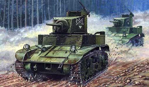 Mirage M3 US Light Tank 'First Hundred' makett