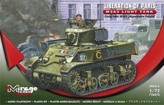 Mirage M3A3 'Liberation of Paris' makett