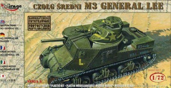 Mirage M3 General Lee makett