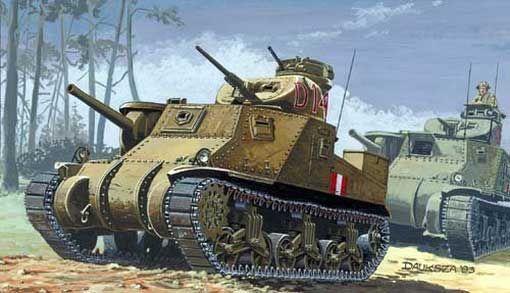 Mirage Medium Tank Lee Mk. I makett