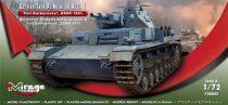 Mirage Pz.Kpfw.IV Ausf. E Fall Barbarossa USSR 1941 makett