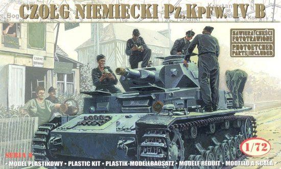 Mirage German Tank Pz.Kpfw IV B makett