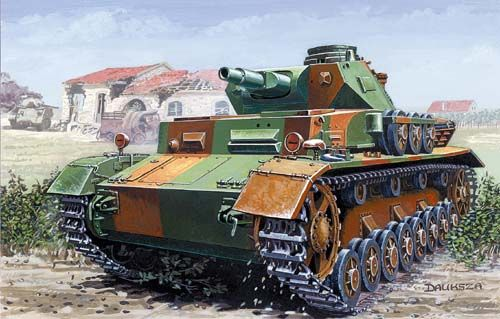 Mirage PzKpfw IV C Normandie 1944 makett