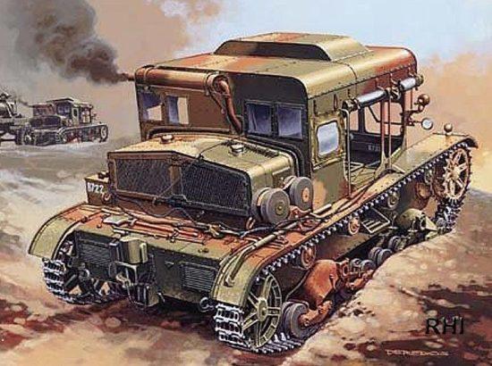 Mirage C7P Heavy Artillery Tractor
