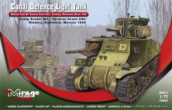 Mirage Medium Tank M3 'General Grant'