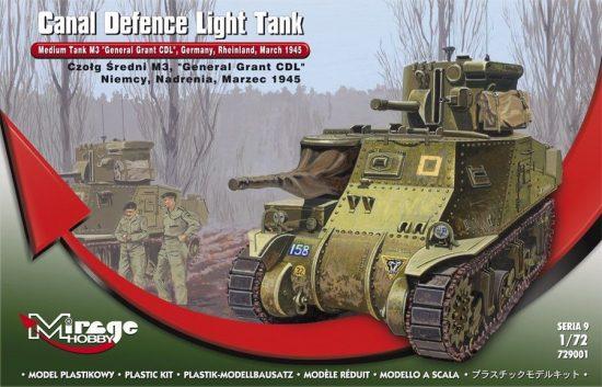 Mirage Medium Tank M3 'General Grant' makett